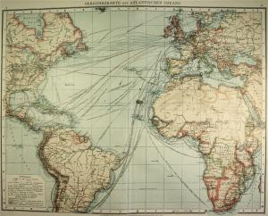 Renaissance Trade Routes.