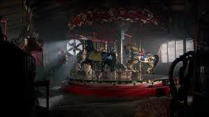 "Creepy carousel from ""The Crush"" with Alicia Silverstone."