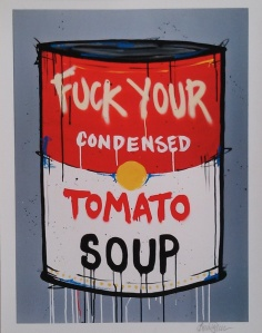 Fuck Your Soup by Annie Preece