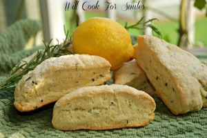 Rosemary Lemon Scones from Will Cook for Smiles.