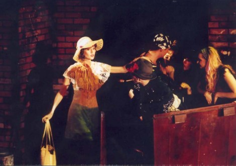 Carmen directed by Dmitri Berman at the Helikon Opera Theatre. Moscow, Russia, 1998.