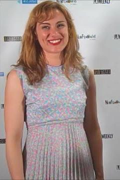 Christiane Hitzemann at New Filmmakers LA.
