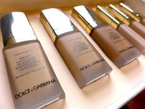 Dolce & Gabbana Perfect Matte Liquid Foundation.