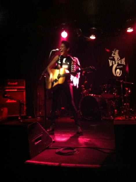 Shirley Levi at the Viper Room